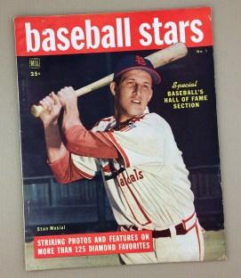 DELL BASEBALL STARS Magazine 1949