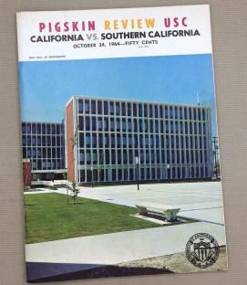 USC vs CAL 1964 Program
