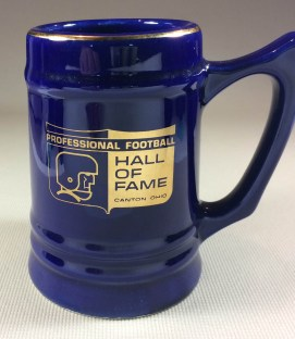 Pro Football Hall of Fame Mug
