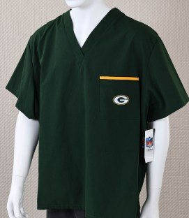 Green Bay Packers Scrubs Shirt
