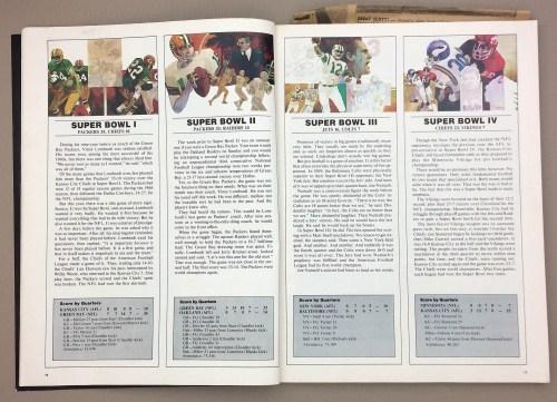 Super Bowl I, II, III, IV