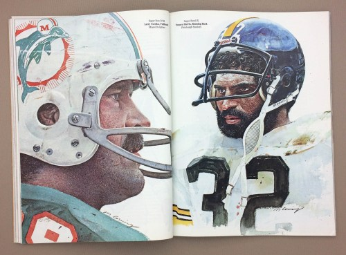 Super Bowl MVP Larry Csonka, Franco Harris