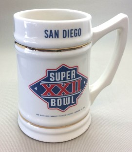 Super Bowl XXII Collectors Mug