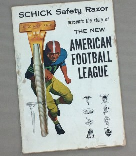 the new American Football League