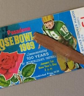 1969 Rose Bowl Ticket Stub