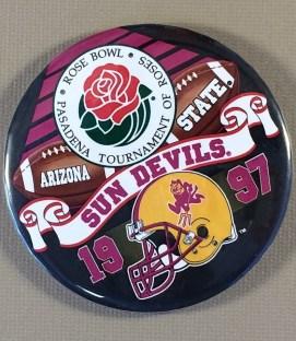 Arizona State 1997 Rose Bowl Button