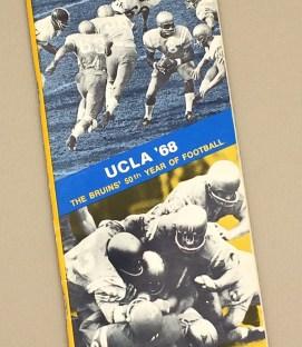 UCLA Bruins Football 1968 Media Guide