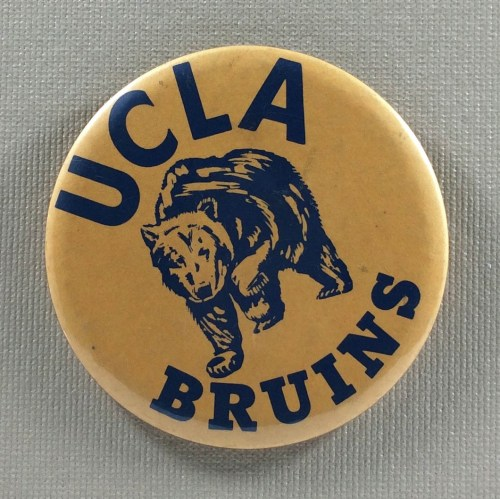 UCLA Bruins 1970s Button