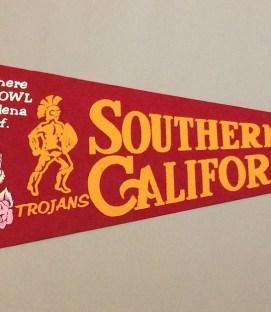 USC Rose Bowl Pennant