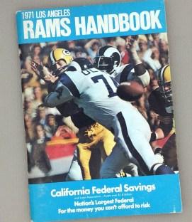 Los Angeles Rams 1971 Media Guide