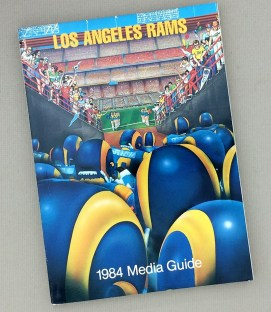 Los Angeles Rams 1984 Media Guide