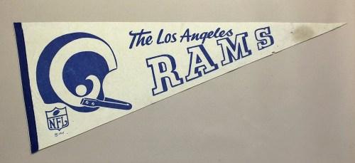Los Angeles Rams 1967 Team Pennant