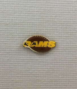 Los Angeles Rams Commemorative Logo Pin