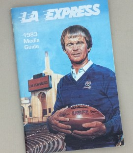 Los Angeles Express 1993 Media Guide