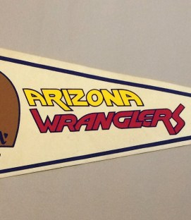 Arizona Wranglers USFL Team Pennant