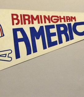 Birmingham Americans Team Pennant