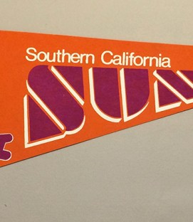 California Sun WFL Team Pennant