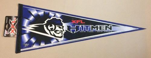 New Jersey Hitmen XFL Team Pennant