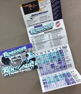 Richmond Renegades 1997-98 Schedule