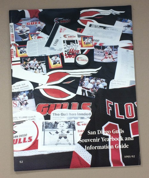San Diego Gulls 1991-92 Yearbook