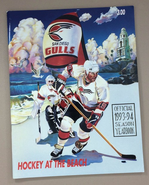 San Diego Gulls 1993-94 Yearbook
