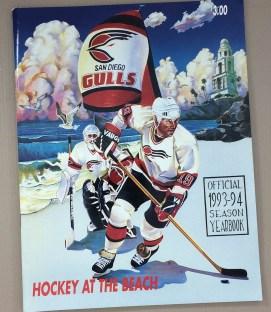 San Diego Gulls 1993-94 Yearbook