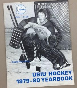 USIU Gulls vs NAU 1980 Hockey Program