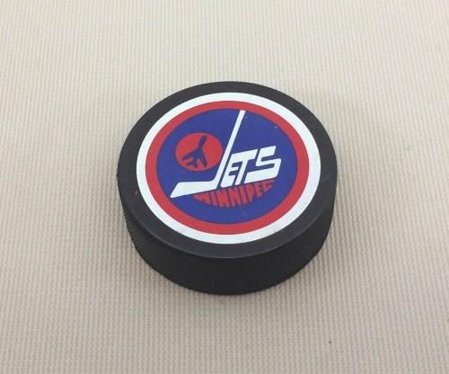 1979-1990 Winnipeg Jets Hockey Puck