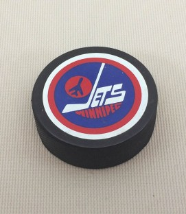 1979-1990 Winnipeg Jets Hockey Puck