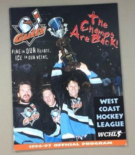 San Diego Gulls 1996-97 Program