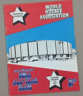 1975 WHA Allstar Game Program