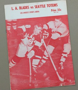 Los Angeles Blades vs Seattle Totems Program