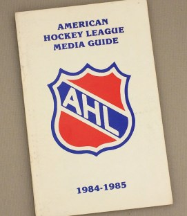 American Hockey League 1984-85 Media Guide