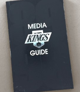 Los Angeles Kings 1989-90 Media Guide