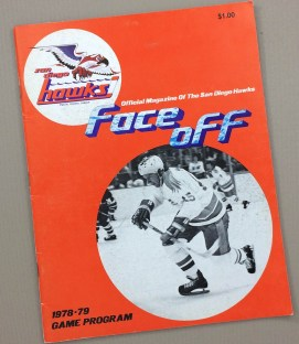 San Diego Hawks vs Spokane Flyers Program