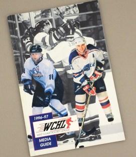 West Coast Hockey League 1996-97 Media Guide