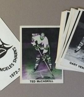 Los Angeles Sharks Collectors Card Set