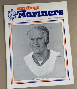 San Diego Mariners 1977 Game Program