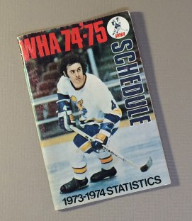World Hockey Association (WHA) 1973 Schedule Guide