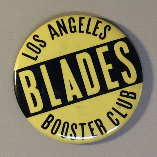 Los Angeles Blades Booster Club Button