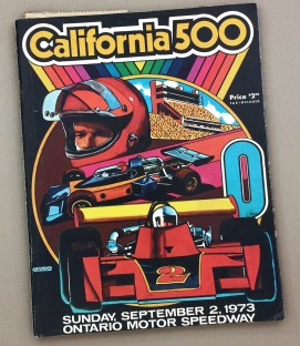 California 500 1973 Program