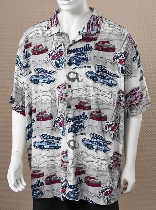 Men's Button Down Racing Shirt