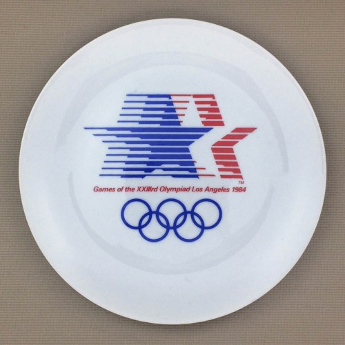 1984 Olympics Collectors Plate