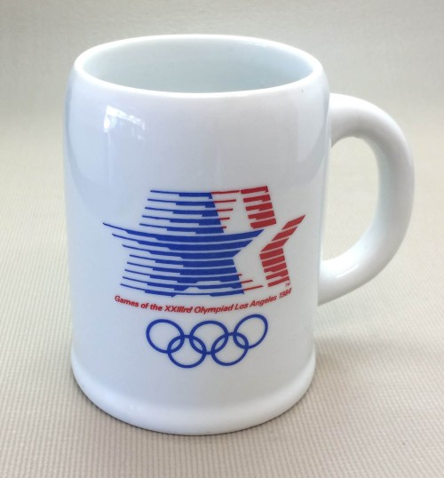 1984 Los Angeles Olympics Coffee Mug