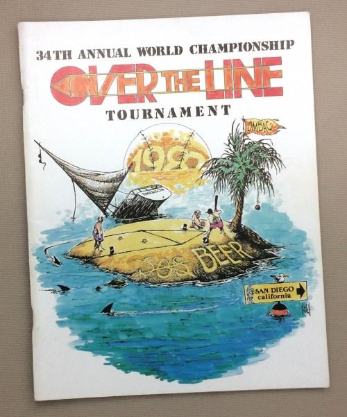 Over The Line 1987 Tournament Program