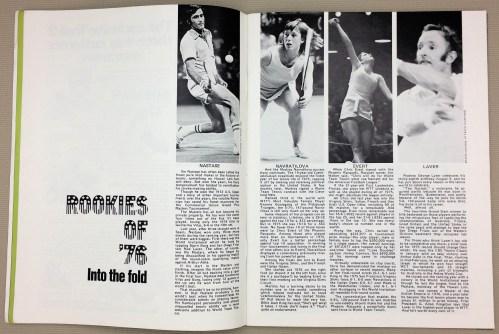WTT Rookies 1976