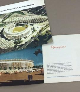 Shea Stadium Inaugural Brochure