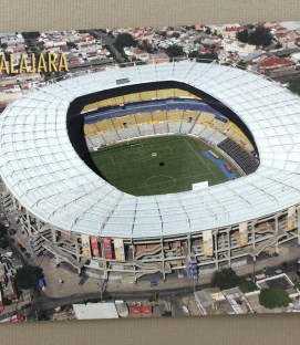 Estadio Jalisco Postcard