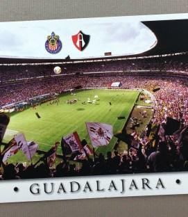 Estadio Jalisco Classico Postcard