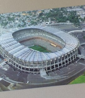 Postcard of Estadio Azteca